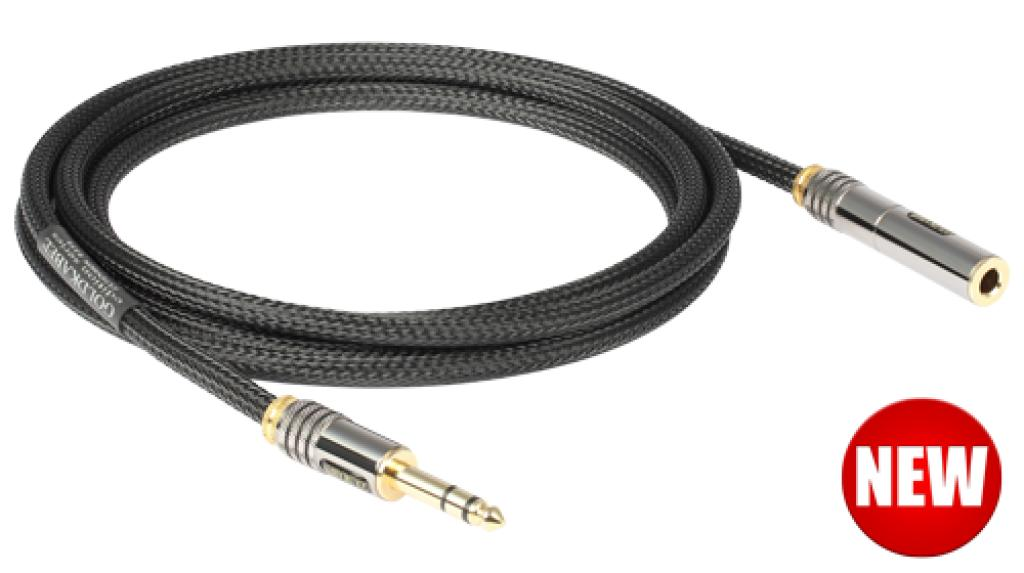 Cablu Extensie Jack 6.3mm GoldKabel Black Edition 5 metri