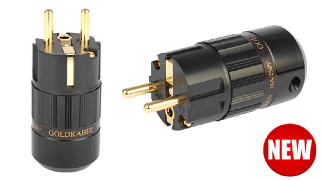 Conector Schuko GoldKabel Gold MKII