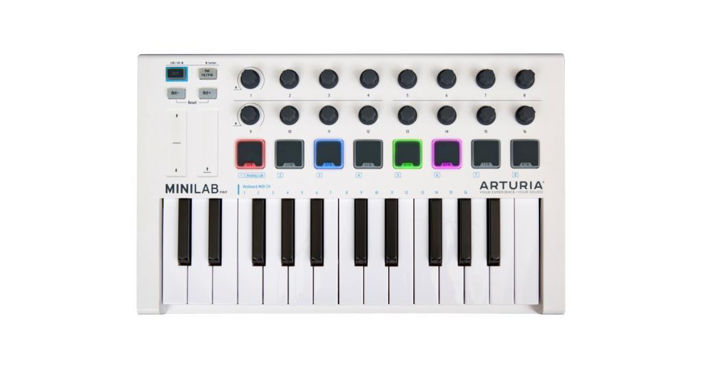 Controller Arturia Minilab Mk2
