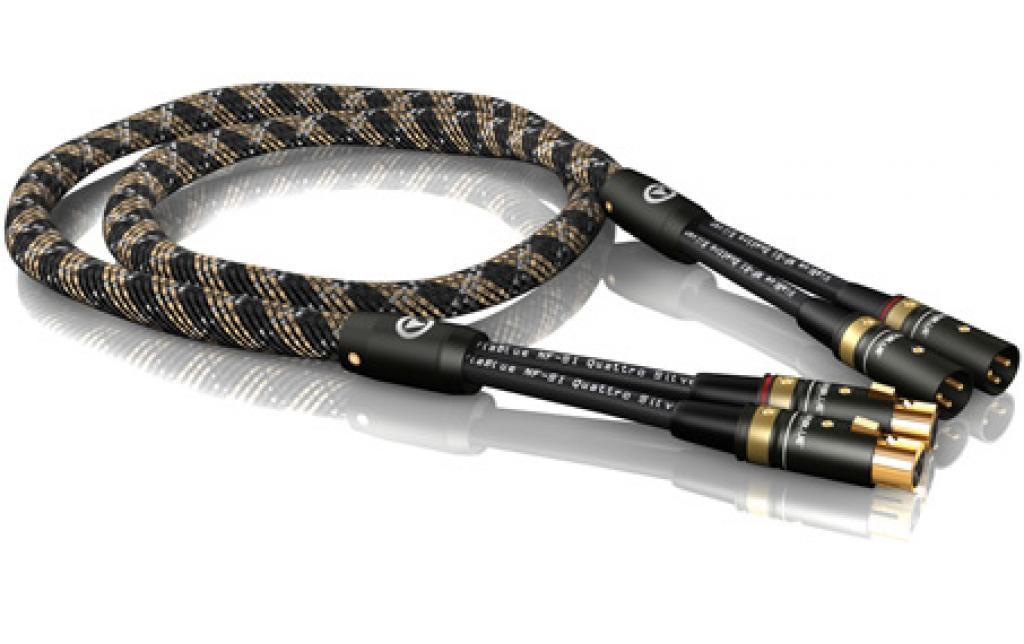 Cablu Interconect Viablue Nf-s1 Quattro Silver 2 M