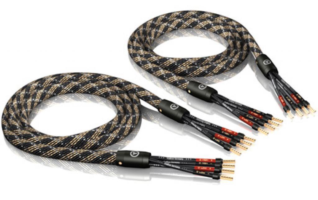 Cablu De Boxe Viablue Sc-4 Silver Bi-amp Crimp 2 X