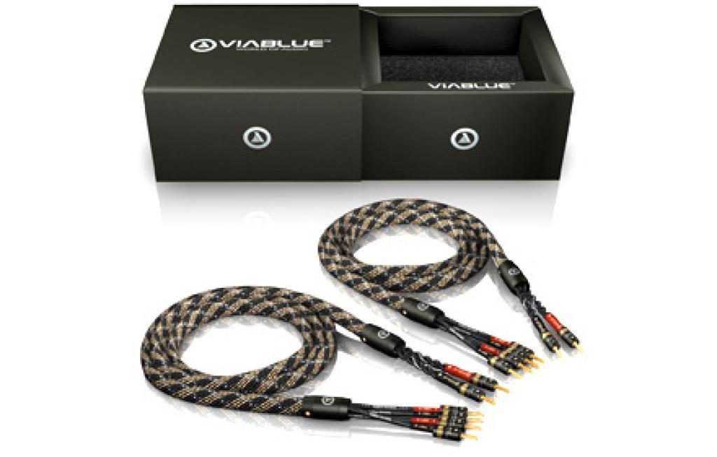 Cablu de Boxe Viablue SC-4 Silver Bi-Wire T6s 2 x 5.0m