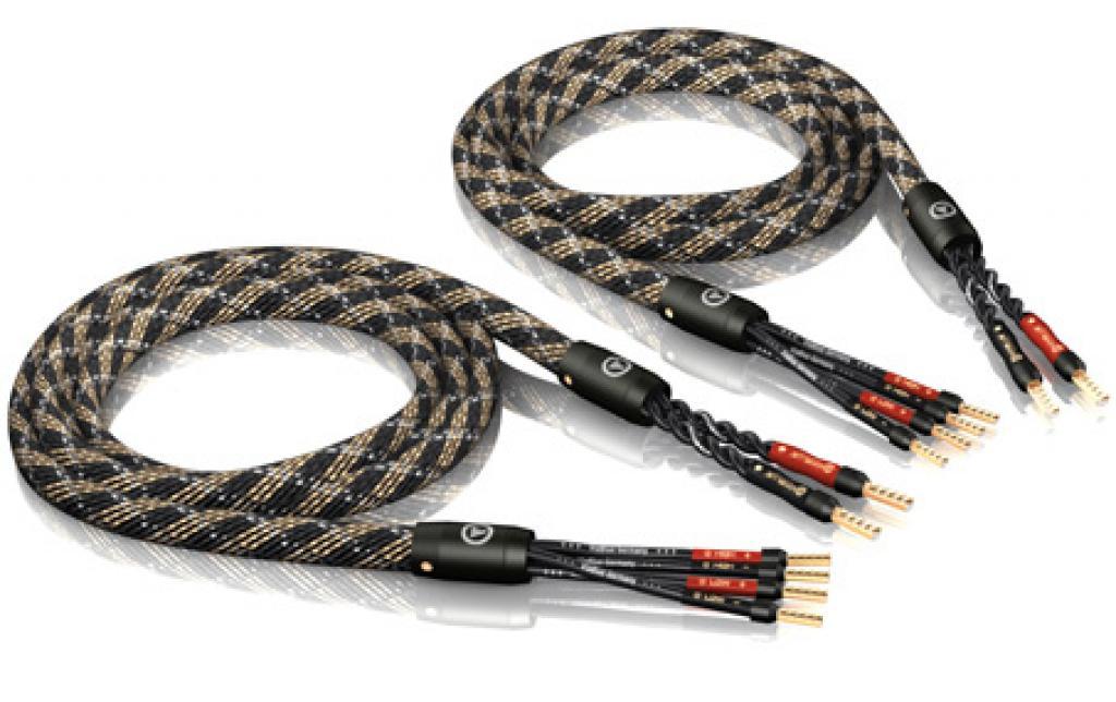 Cablu De Boxe Viablue Sc-4 Silver Bi-wire Crimp 2