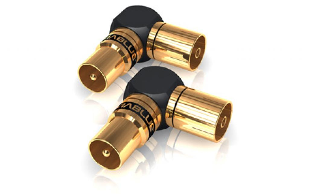 Conector Adaptor L Antena-antena Viablue Xs
