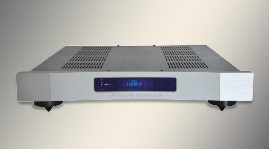 Convertor Digital/Analog (DAC) Metronome C5 Plus Argintiu