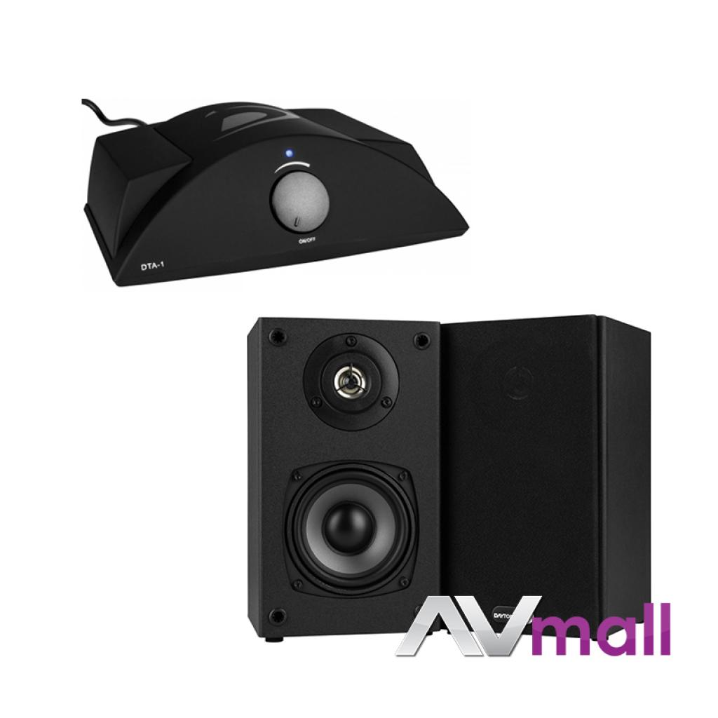 Imagine indisponibila pentru Pachet Amplificator Integrat Dayton Audio DTA-1 Class T + Boxe Dayton Audio B452