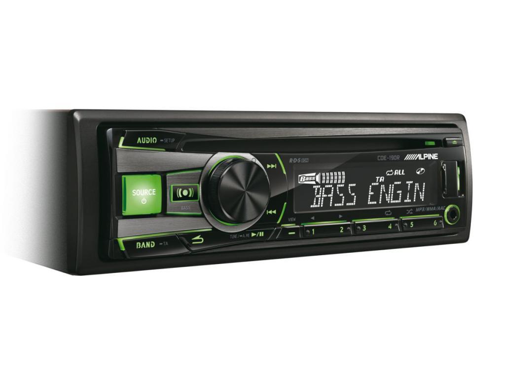 CD Player Auto Alpine CDE-190R