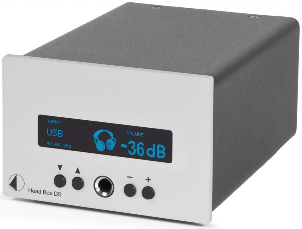 Amplificator De Casti Pro-ject Head Box Ds Negru