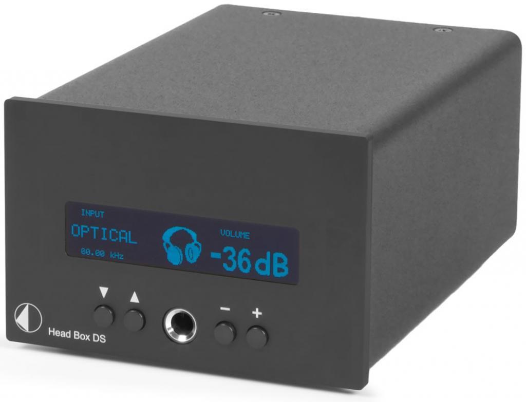 Convertor Digital/Analog (DAC) Pro-Ject Head Box DS Negru
