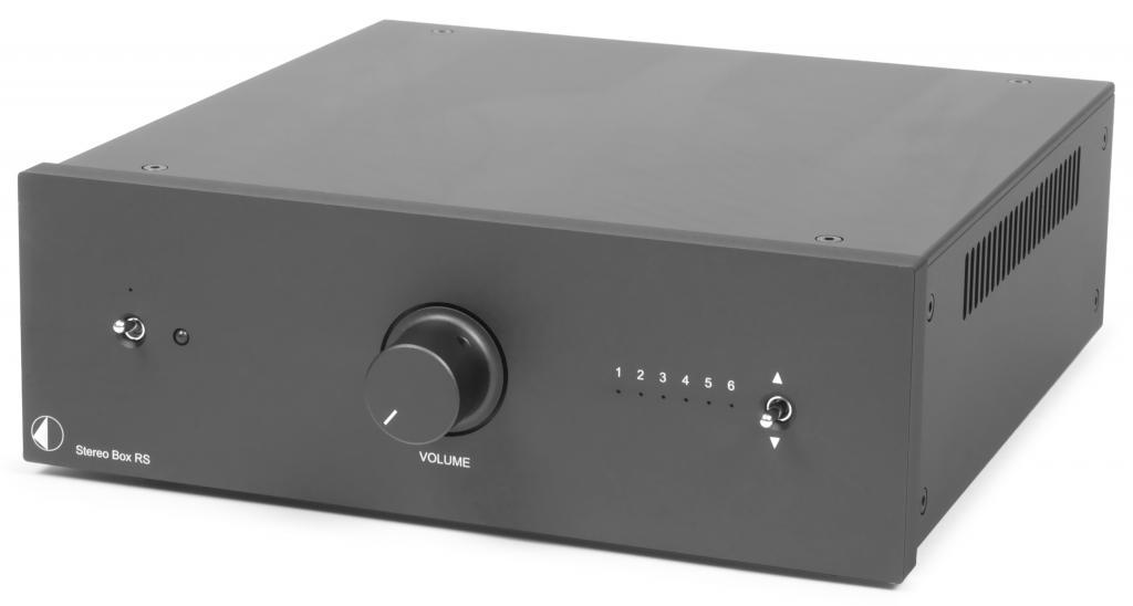 Amplificator Integrat Pro-Ject Stereo Box RS Negru