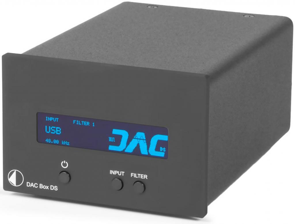 Convertor Digital/Analog (DAC) Pro-Ject DAC Box DS Argintiu
