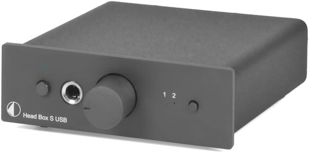 Amplificator De Casti Pro-ject Head Box S Usb Negr