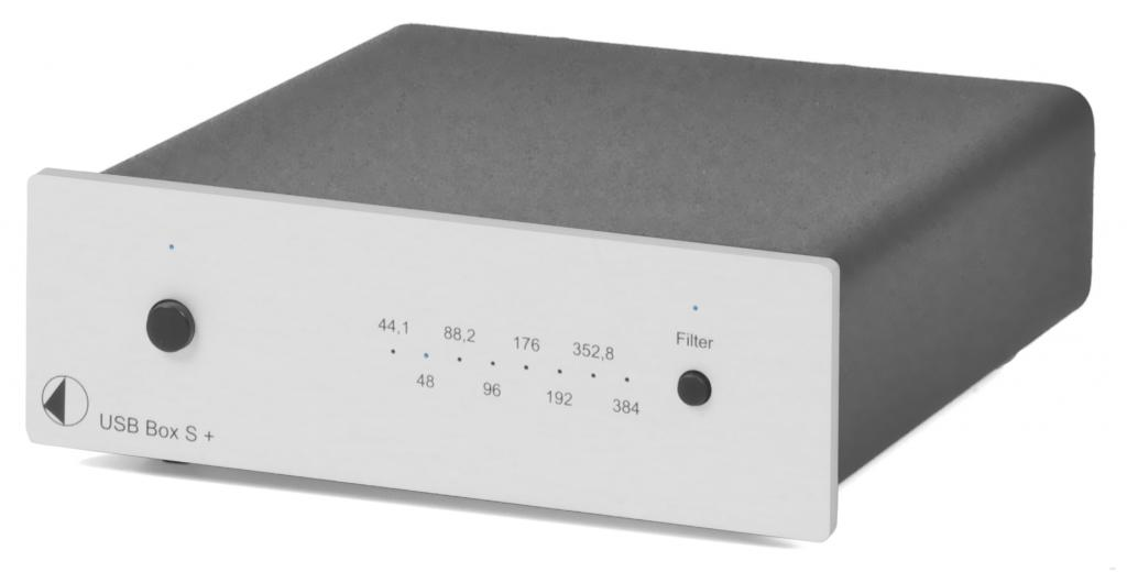 Convertor Digital/Analog (DAC) Pro-Ject USB Box S+