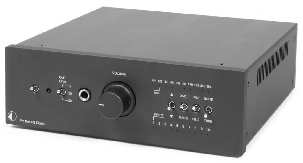 Amplificator De Casti Pro-ject Pre Box Rs Digital