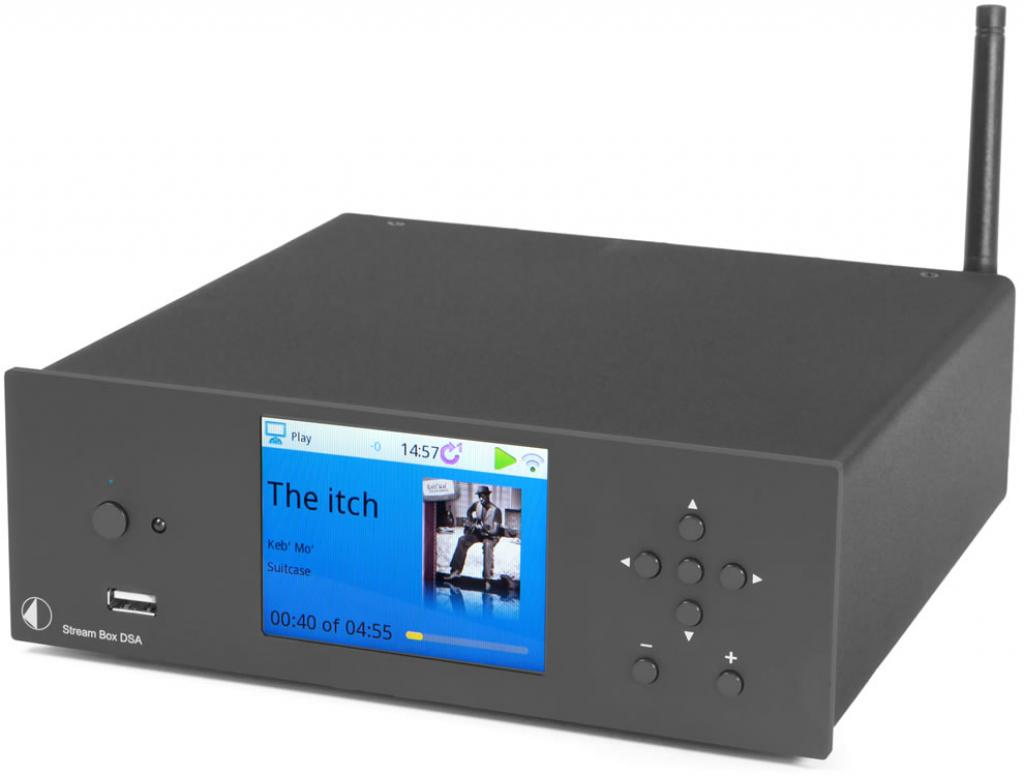 Sistem Stereo Pro-Ject Stream Box DSA Negru