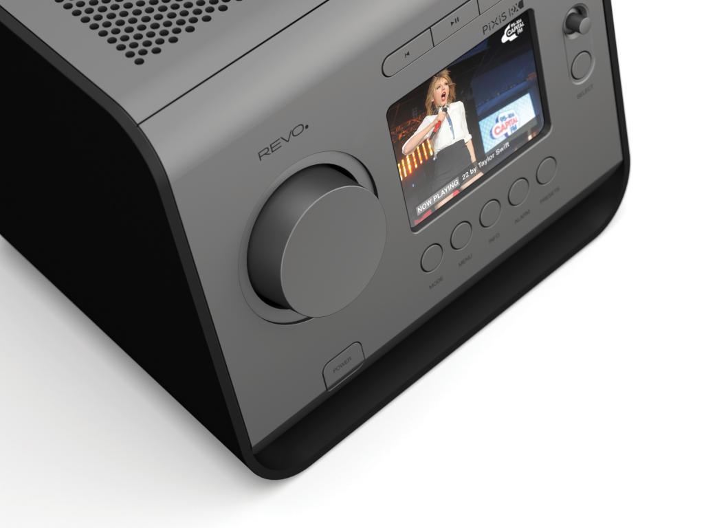 Sistem Stereo Revo Pixis Rx Gunmetal - Black