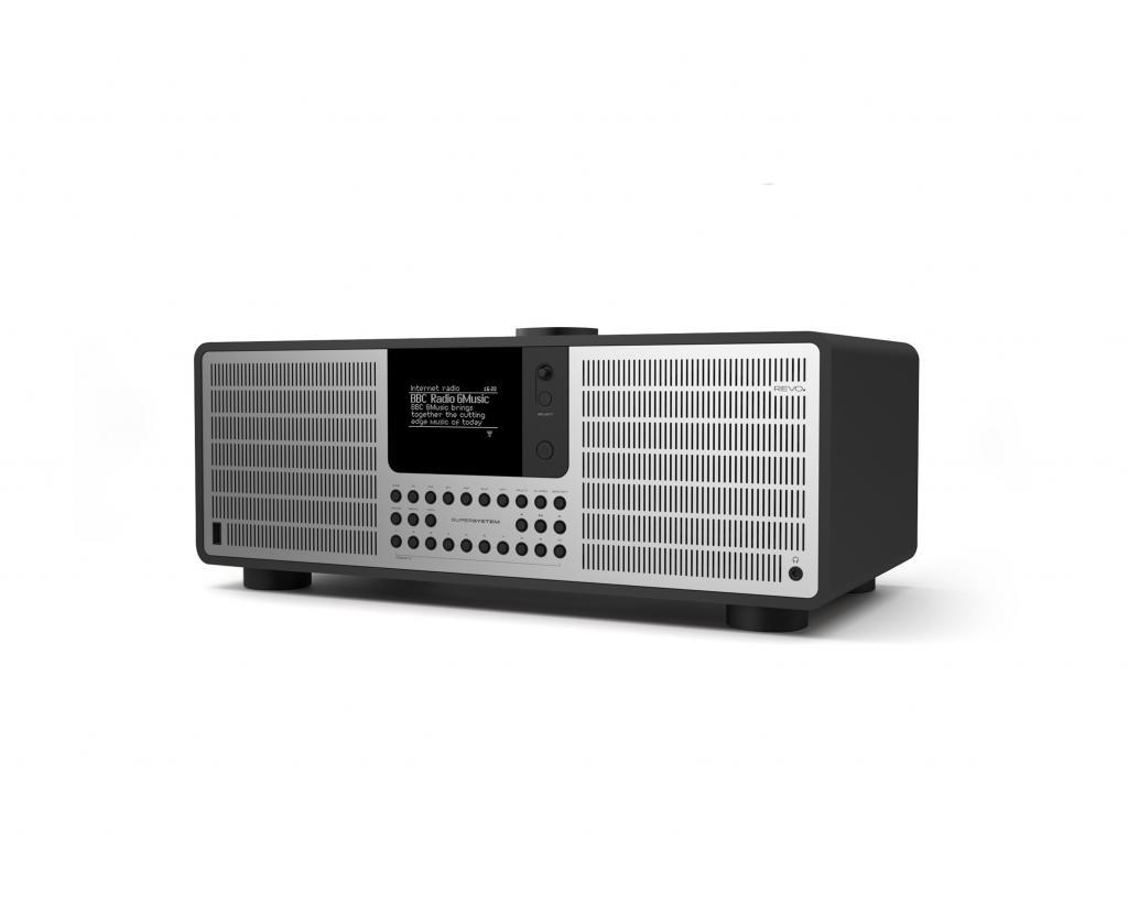 Sistem Stereo REVO SuperSystem Matt White - Silver