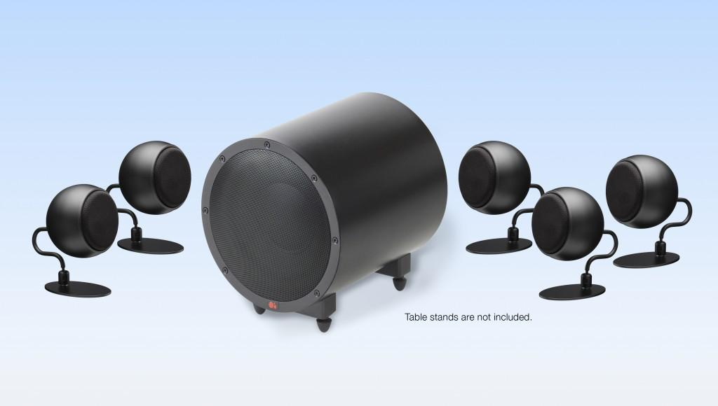 Sistem de Boxe 5.1 Anthony Gallo Micro SE Satin Black