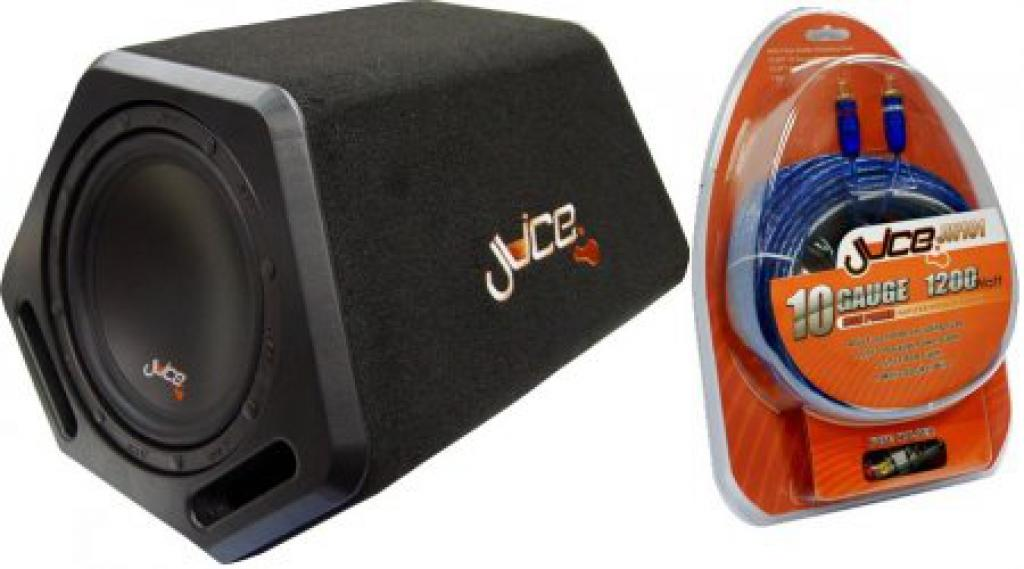 Subwoofer Auto Juice A8 Active Bass Pack