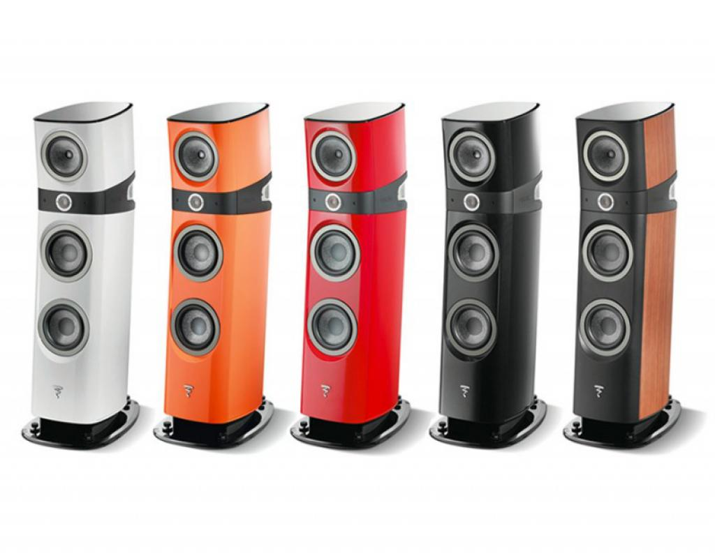 Boxe Focal Sopra N3 Electric Orange