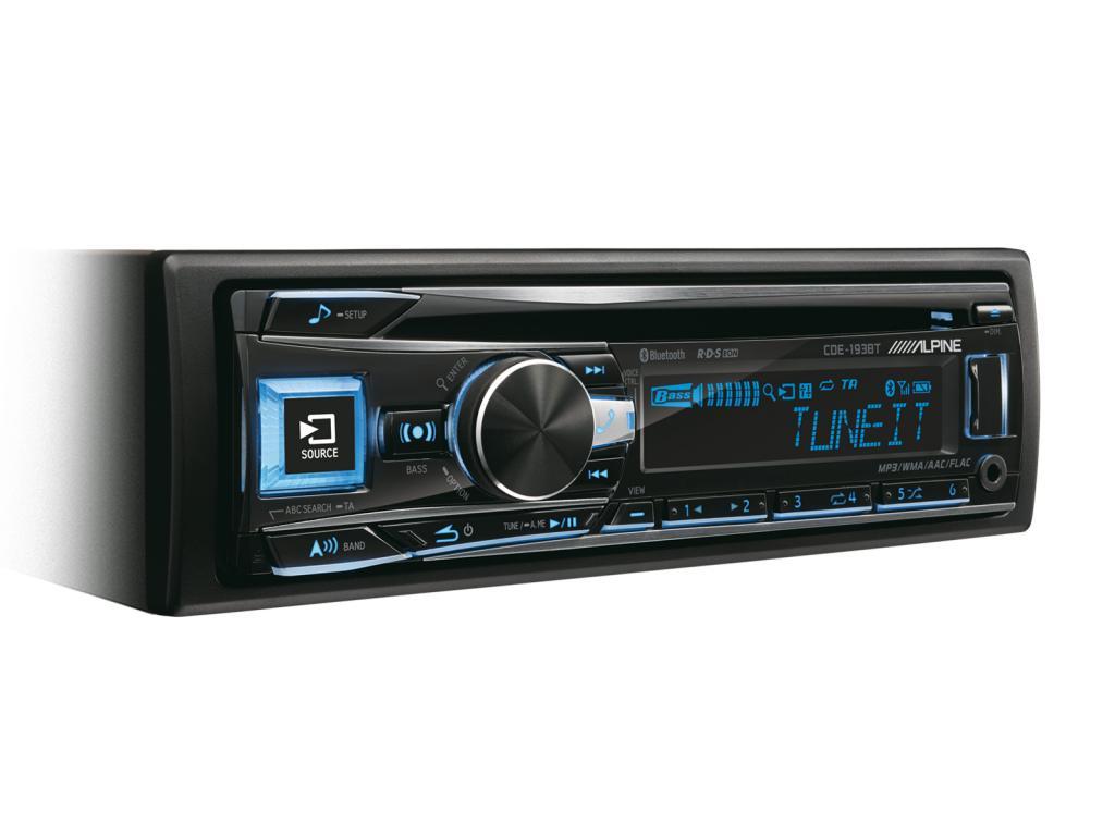 CD Player Auto Alpine CDE-193BT