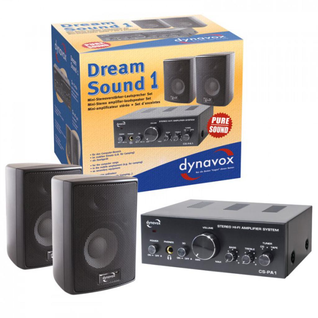 Sistem Stereo Dynavox Dream Sound Set 1 Argintiu