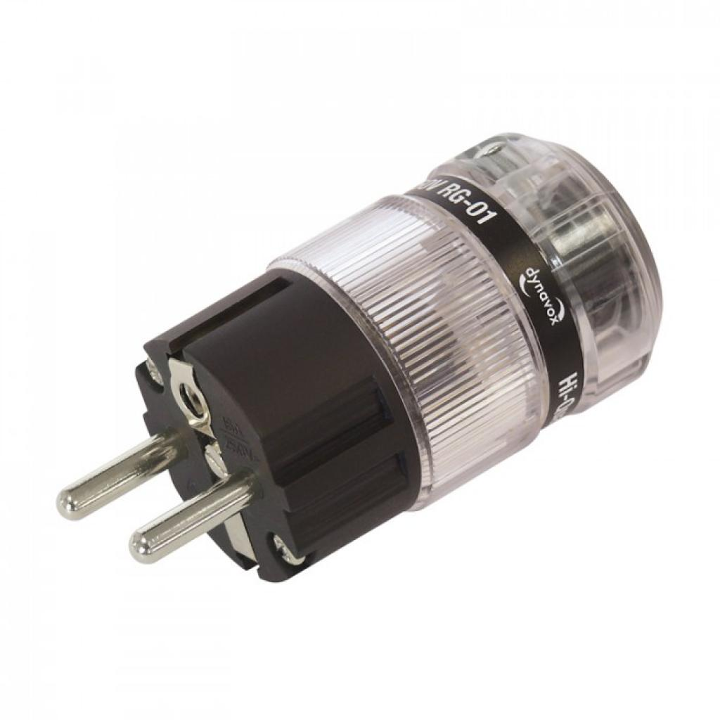Conector Schuko Dynavox Nickel Plated