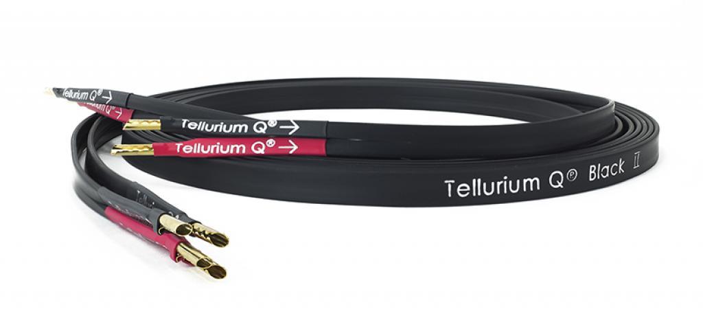 Cablu de Boxe Tellurium Q Black II 2 x 3.0m