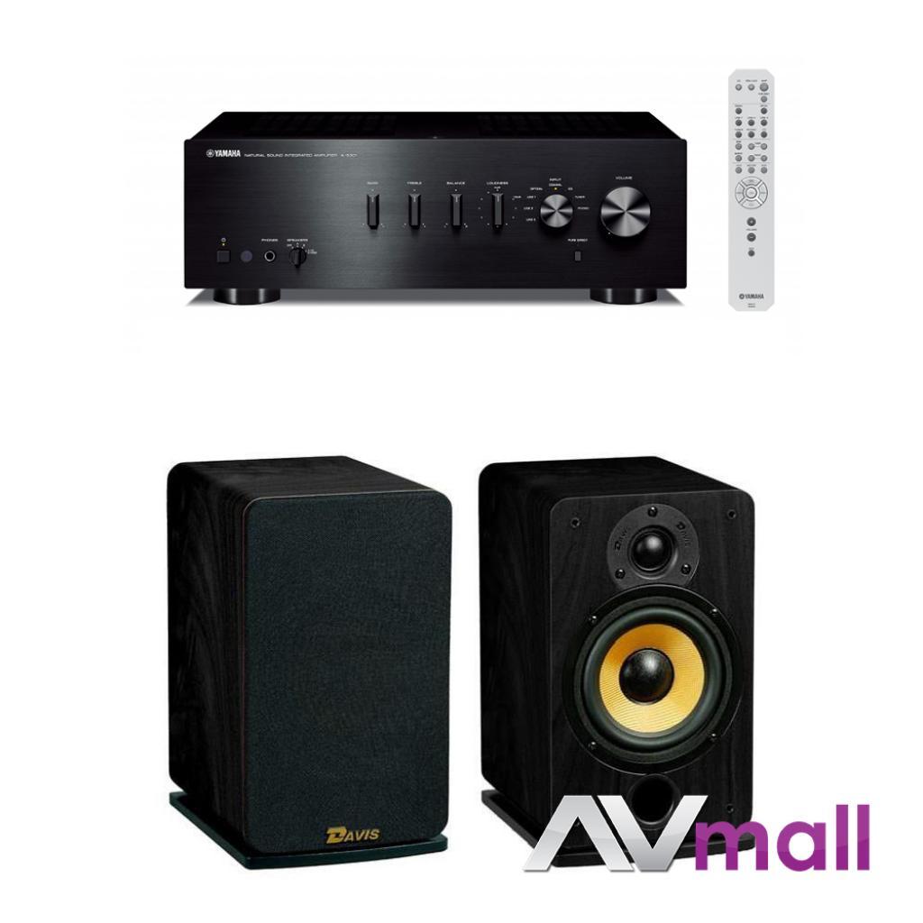 Images Pachet Amplificator Integrat Yamaha A-S301 + Boxe Davis Acoustics Eva