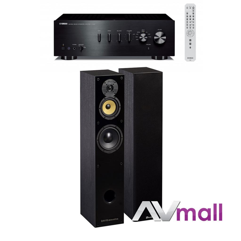 Pachet Amplificator Integrat Yamaha A-S501 + Boxe Davis Acoustics Balthus 50