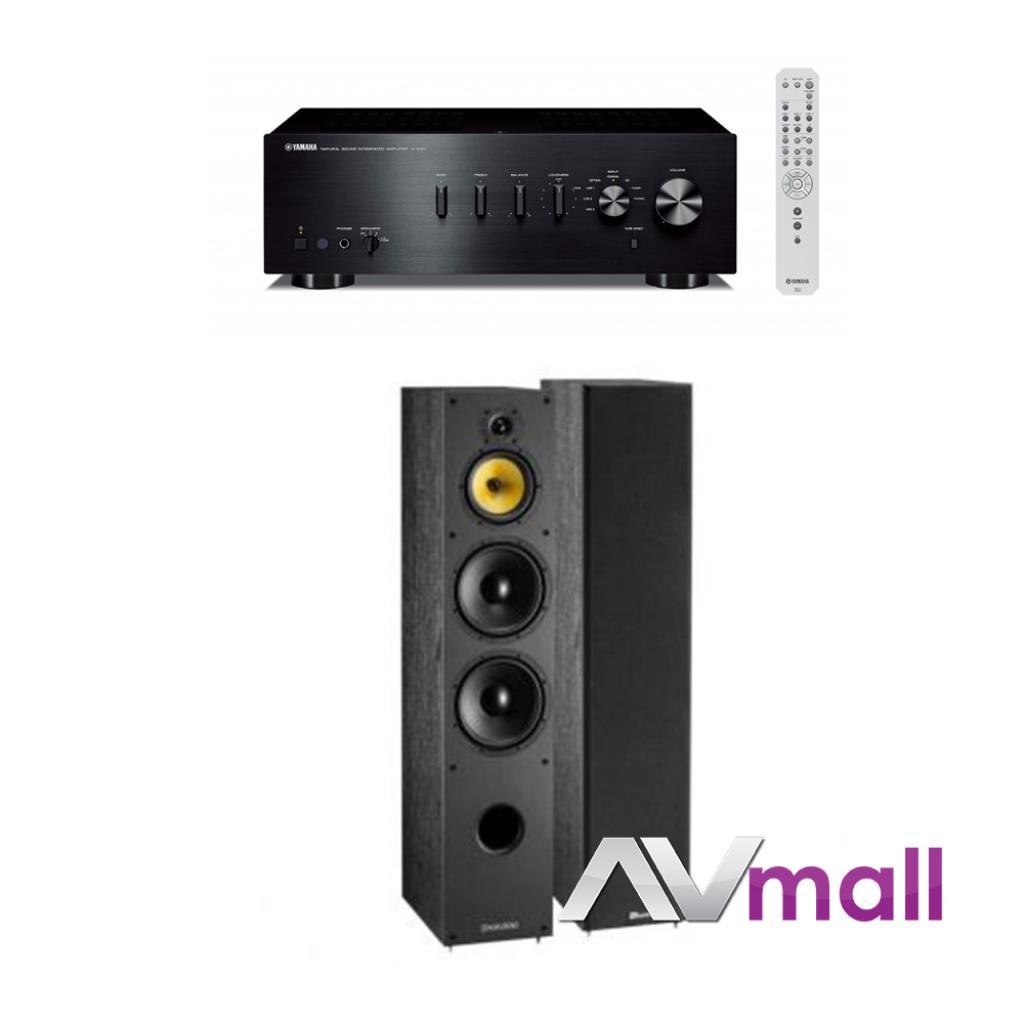 Pachet Amplificator Integrat Yamaha A-s501 + Boxe