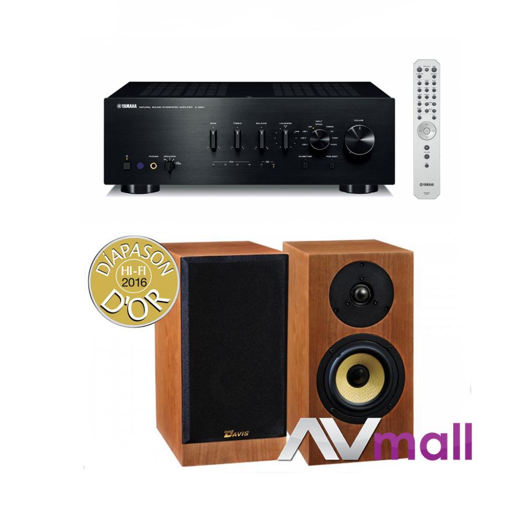 Pachet Amplificator Integrat Yamaha A-s801 + Boxe