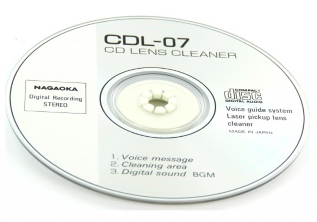 Nagaoka Cdl-07 Cd Lens Cleaner