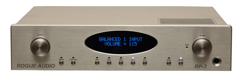 Preamplificator Rogue Audio RP-7 Negru