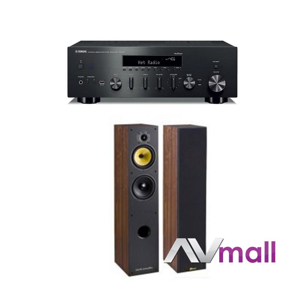 Pachet Amplificator Receiver Yamaha R-n602 + Boxe