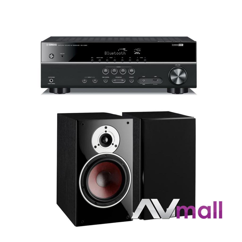 Pachet Receiver AV Yamaha RX-V383 + Boxe Dali Zensor 3
