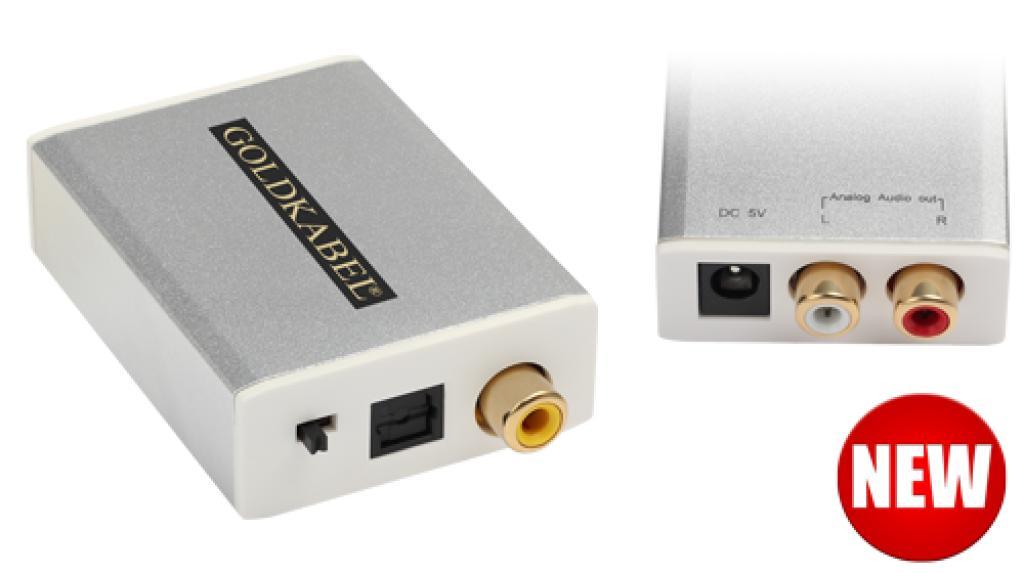 Convertor Digital/Analog (DAC) GoldKabel MK3