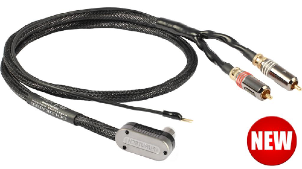Cablu Phono GoldKabel Edition Phono Tak Angle Black Edition 1 metru