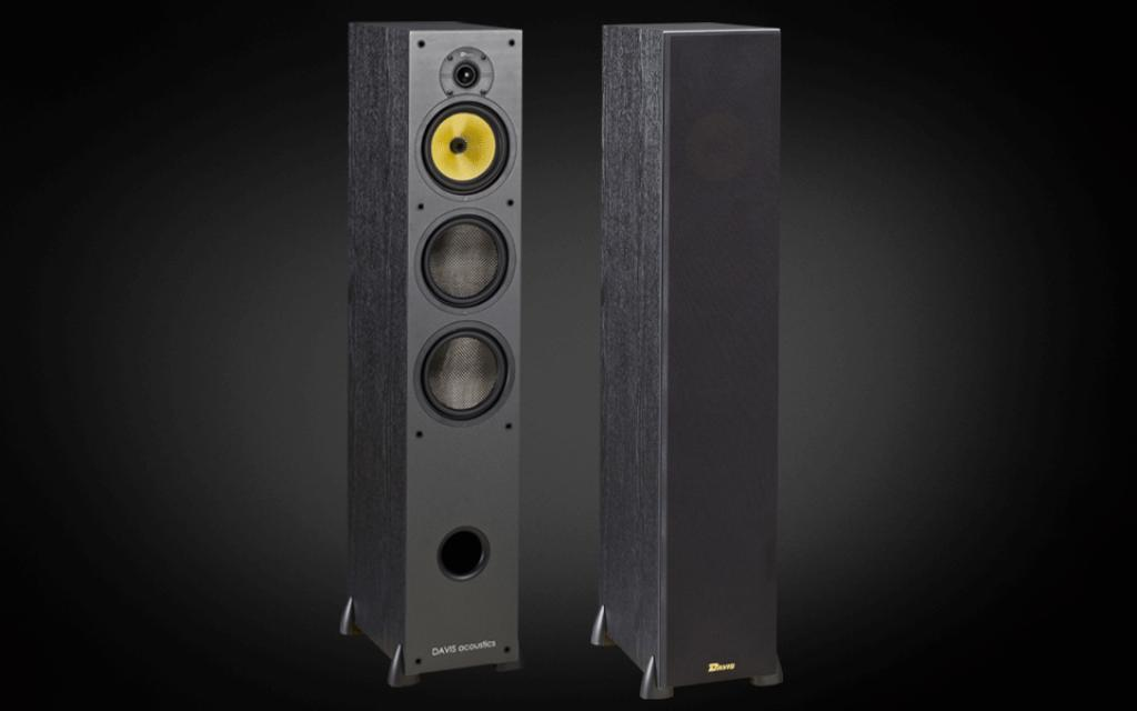 Boxe Davis Acoustics Hera 200 Black Ash