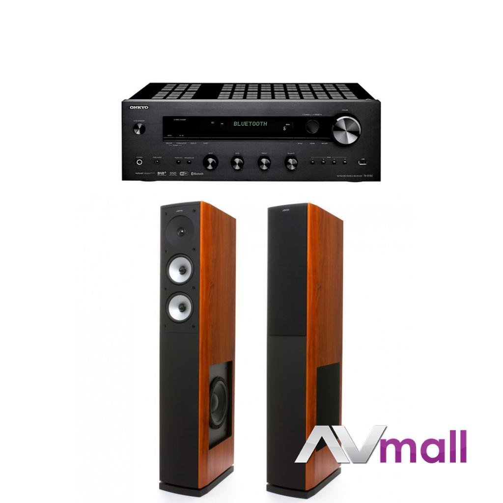 Pachet Amplificator Receiver Onkyo TX-8150 + Boxe Jamo S 626