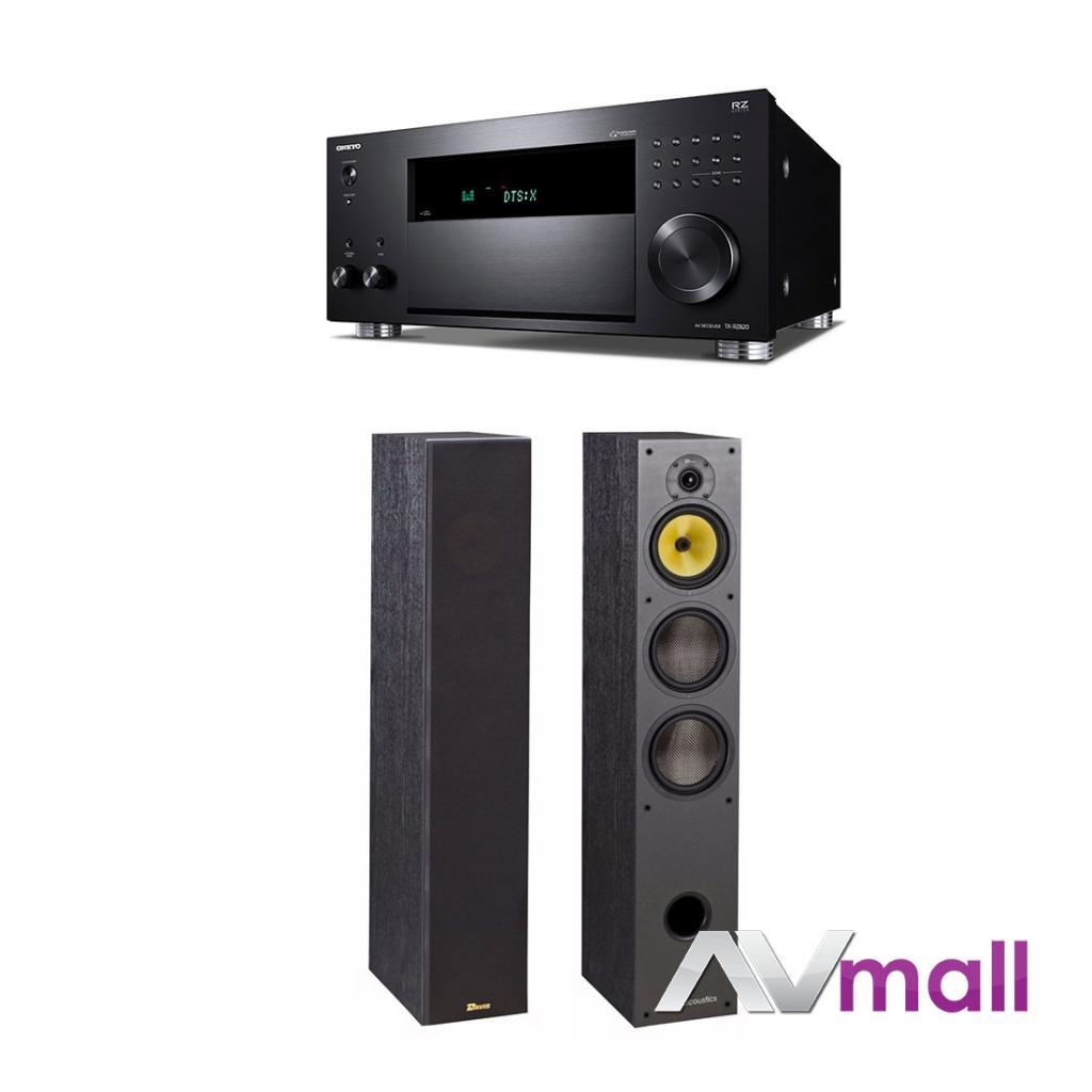 Pachet Receiver AV Onkyo TX-RZ820 + Boxe Davis Acoustics Hera 200