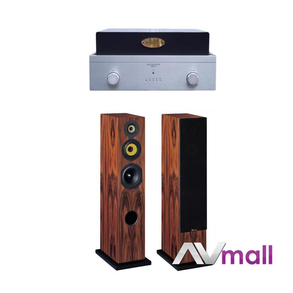 Pachet Amplificator Integrat Xindak Ms-9 + Boxe Da