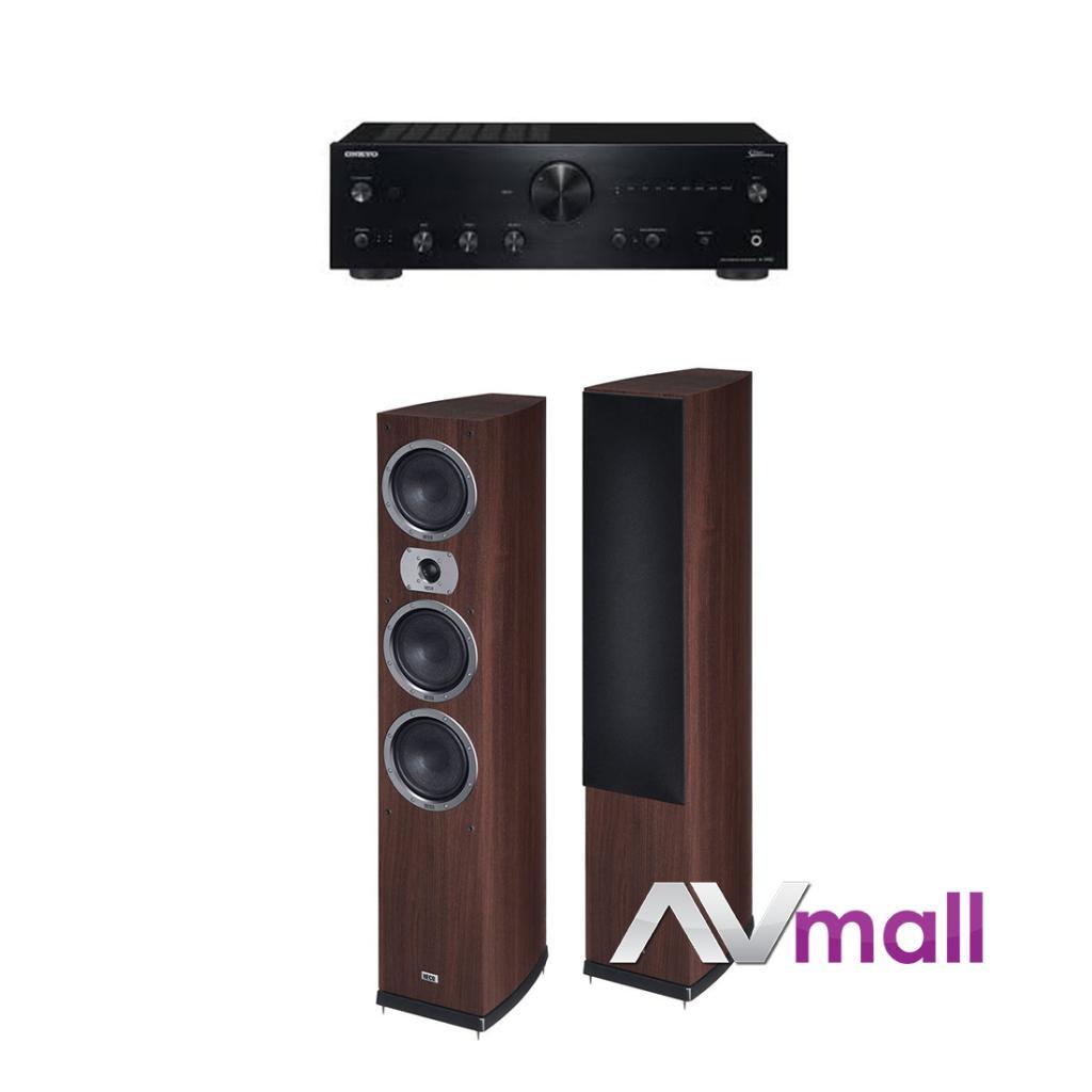Pachet Amplificator Integrat Onkyo A-9150 + Boxe Heco Victa Prime 702