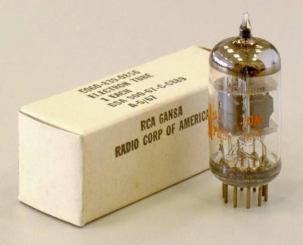Lampa Nos ( Tub ) Us Made 6an8a / 8489