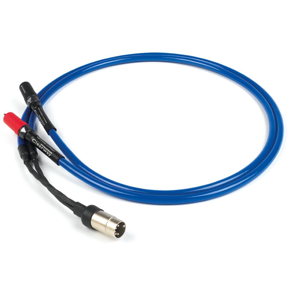Cablu Interconect DIN - RCA Chord Clearway 1 metru