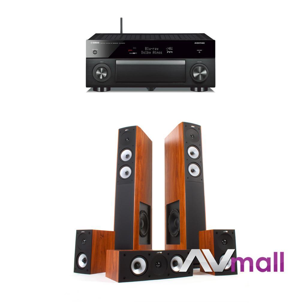 Pachet Receiver AV Yamaha RX-A1070 + Sistem de Boxe Jamo S 626 HCS