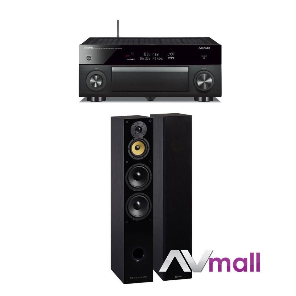 Pachet Receiver AV Yamaha RX-A1070 + Boxe Davis Acoustics Balthus 70