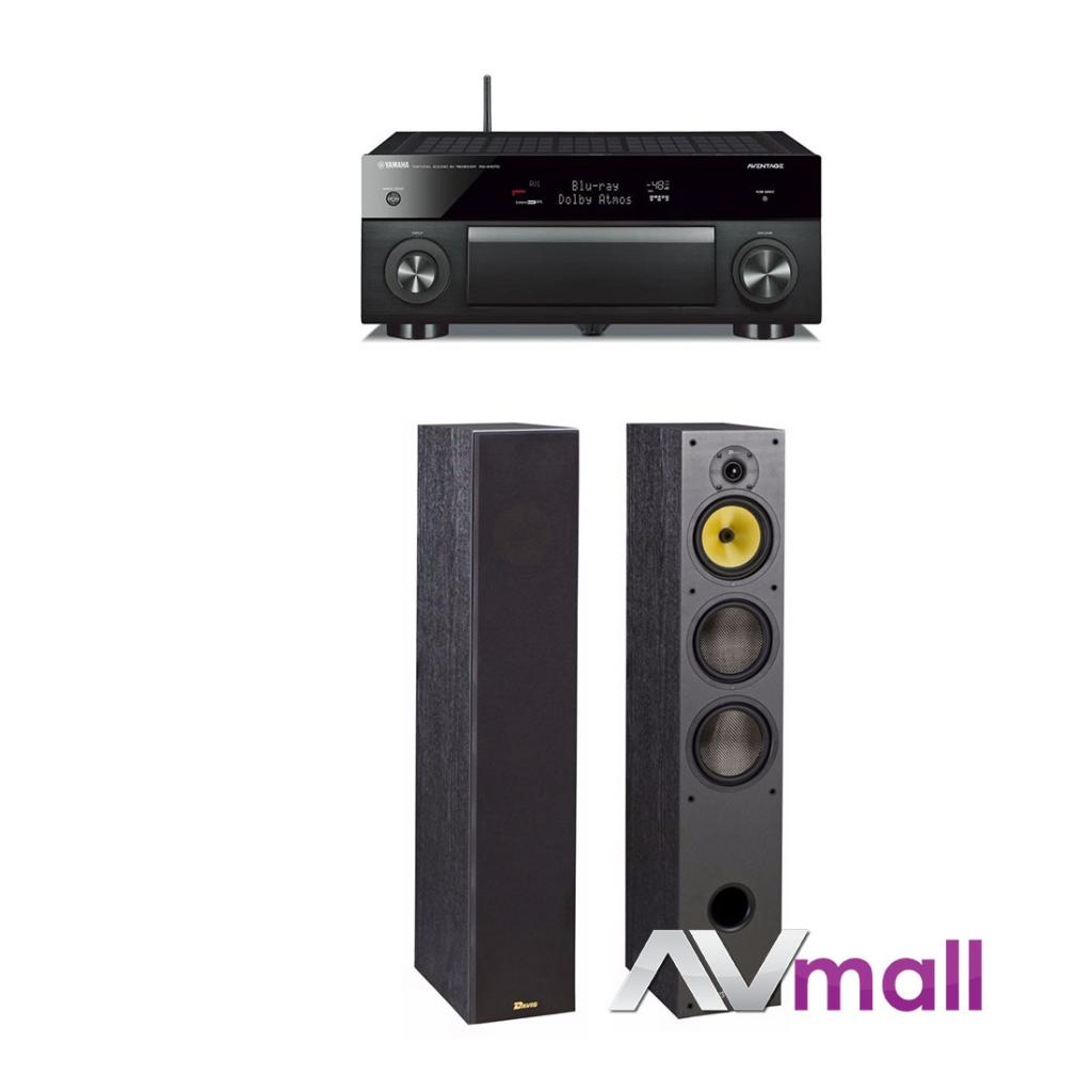Pachet Receiver AV Yamaha RX-A1070 + Boxe Davis Acoustics Hera 200