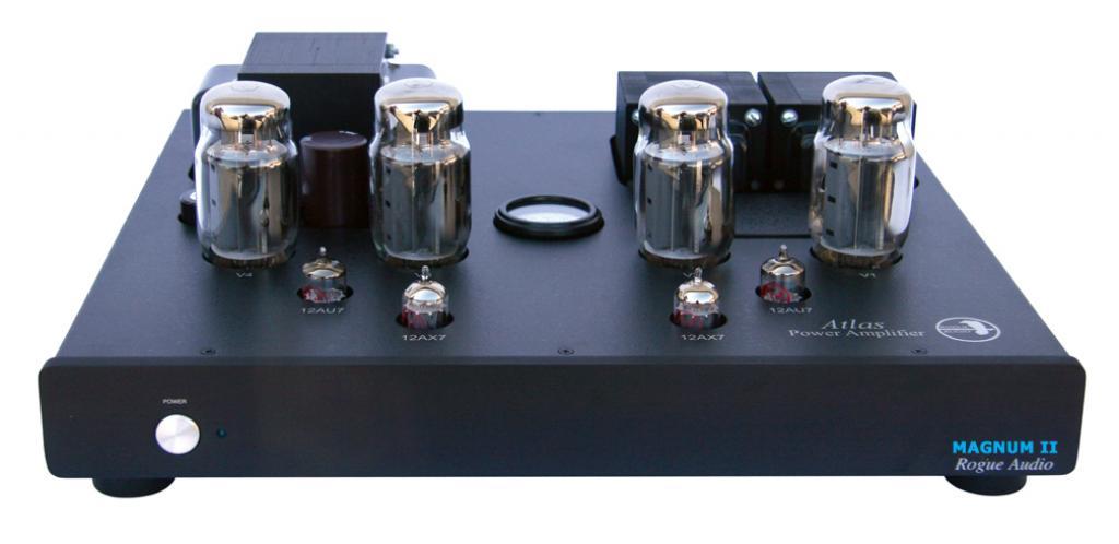 Amplificator de Putere Rogue Audio Atlas Magnum II Negru