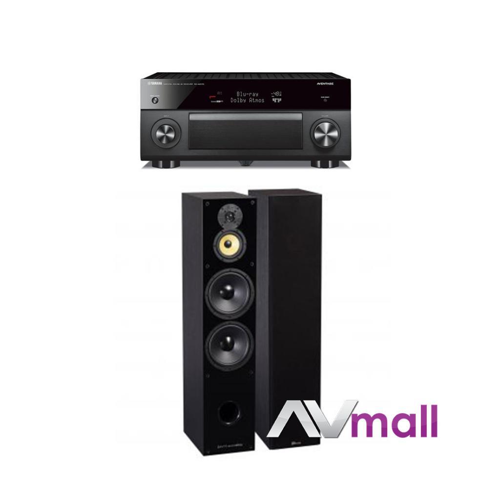 Pachet Receiver AV Yamaha RX-A2070 + Boxe Davis Acoustics Balthus 90